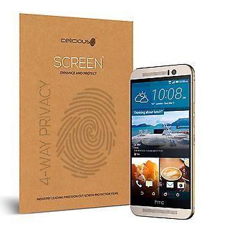Celicious Privacy Plus 4-Way Anti-Spy Filter Screen Protector Film Compatible with HTC One M9s