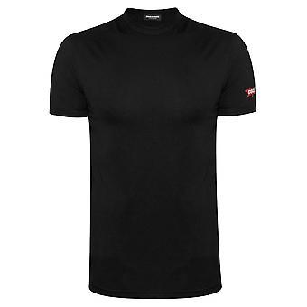 DSQUARED2 Underwear DSQUARED2 Black Maple T-Shirt