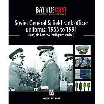 Soviet General and Field Rank Officers Uniforms - 1955 to 1991 - (Land