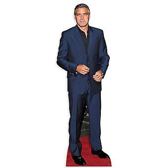 George Clooney Lifesize Karton Ausschnitt / f / Standup