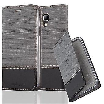 Cadorabo sleeve for Samsung Galaxy S4 ACTIVE - mobile case with stand function and compartment in the fabric design - case cover sleeve pouch bag book