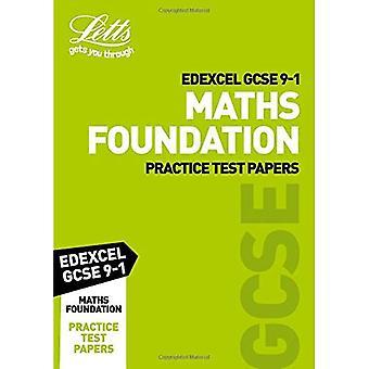Edexcel GCSE Maths Foundation Practice Test Papers - Letts GCSE 9-1 Revision Success (Paperback)