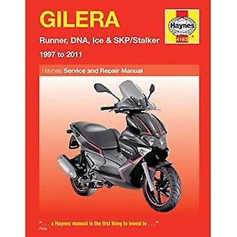 Gilera Runner, DNA, Ice & SKP/Stalker Service and Repair Manual: 1997 to 2011