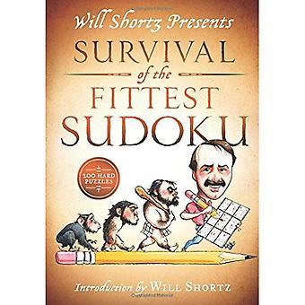 Voluntad Shortz presenta Sudoku de la supervivencia del más apto: rompecabezas duros 200