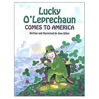 Gelukkige O'Leprechaun komt naar Amerika