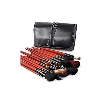 30 Pcs Professional Make Up Brush Set with Black Case