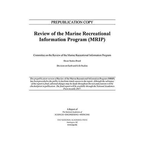 Review of the Marine Recreational Information Program