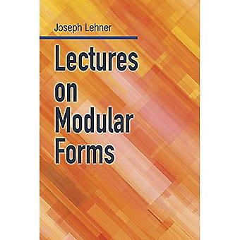 Lectures on Modular Forms