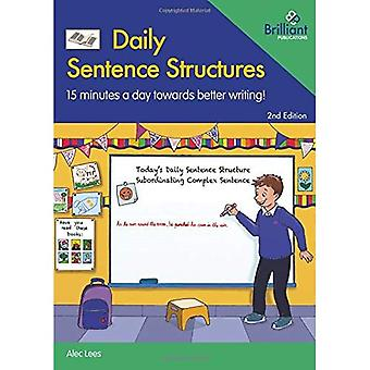 Daily Sentence Structures: 15 minutes a day towards better writing!