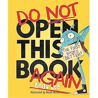 Dieses Buch nicht wieder öffnen
