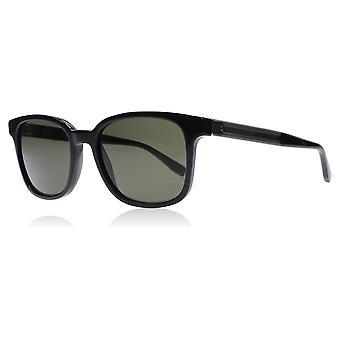 Hugo Boss 0802/S 128 Black / Dark Grey 0802/S Square Sunglasses Polarised Lens Category 3 Size 52mm