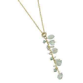 PEARLS FOR GIRLS jewelry women's Necklace with freshwater Pearl Gold