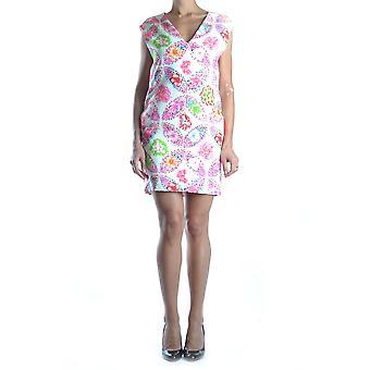 Msgm Multicolor Cotton Dress