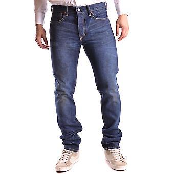 Ralph Lauren Blue Cotton Jeans