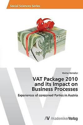 Vat Package 2010 and Its Impact on Business Processes by Kerndler Walter