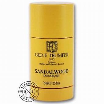 Geo F Trumper santal déodorant Stick 75ml