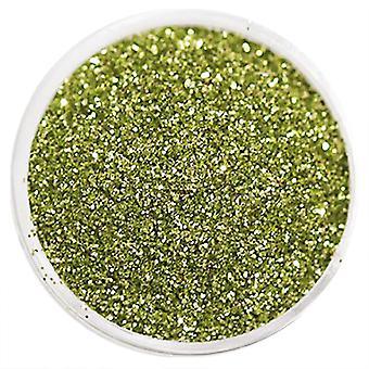 1pc 細粒グリッターライトグリーン