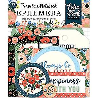 Echo Park Paper Fancy Flora Travelers Notebook Ephemera (TNF1008)