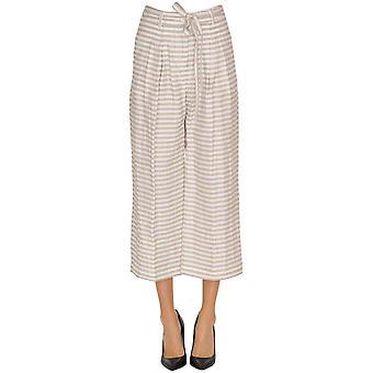 Seventy Grey Viscose Pants