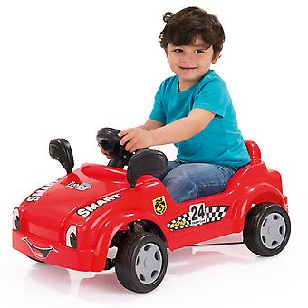 Dolu Kids Children My First Pedal Car - Ride On Bike Lightweight Model Detailing Honking Horn in Red