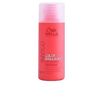 Wella Invigo Color Brilliance shampoo cabelo fino 50 ml unisex
