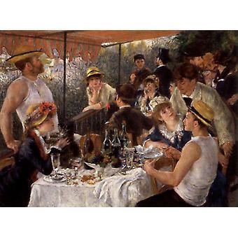 The Boottochtje,Pierre-Auguste Renoir,50x37cm