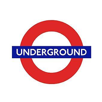 Tfl™5101 licensed underground™ vinyl sticker