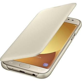 Samsung EF-WJ530CFE Фолио Обложка Галактика J5 2017 - золото