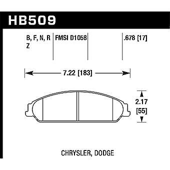 Hawk prestaties HB509B. 678 HPS 5,0