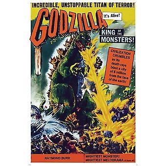Poster - Studio B - Godzilla - King of Monsters Wall Art P0319
