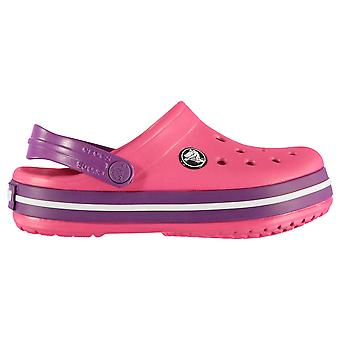 Crocs Kids Croc Band Baby Heel Strap Summer Shoes Cloggs