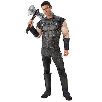 Thor Deluxe Muscle Marvel Avengers Infinity War Endgame Costume degli uomini supereroi