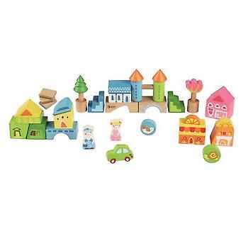 Cayro Building City 40 Pcs. (Babies and Children , Toys , Preschool , Constructions)