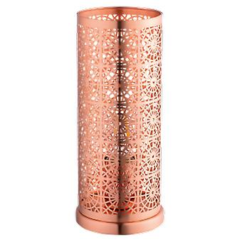Wellindal Table luminaire 1 Light E27 Copper brushed Bocal