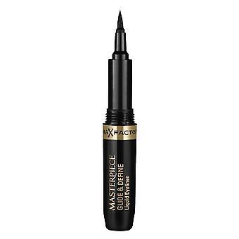 2 x Max Factor Masterpiece Glide & Define Eyeliner - 1 Black
