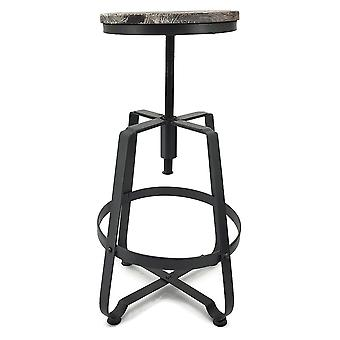 Turner Retro-modernen Stahl/Holz Barhocker