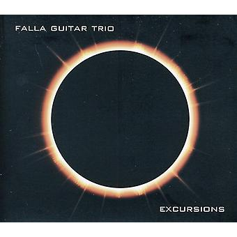 Falla Guitar Trio - excursies [CD] USA import