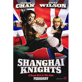 Shanghai Knights (Single Sided Advance) (2003) Original Cinema Poster