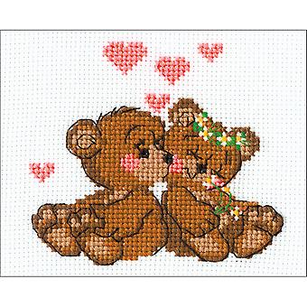 Little Imps Counted Cross Stitch Kit-6.25