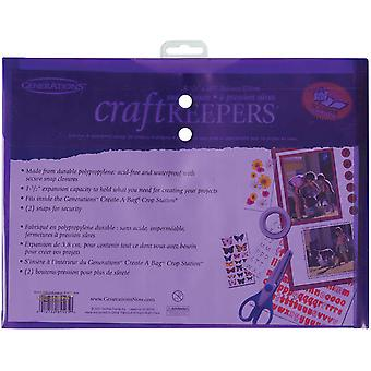 Craft Keepers Snap Closure Envelope Assorted Colors 8.5