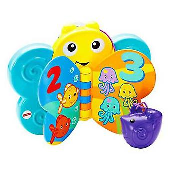 Fisher-Price Butterfly-Book Bañitos (Speelgoed , Kleuterschool , Baby´S , Badspeelgoed)