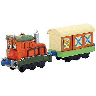 Tomy Morris with wagon