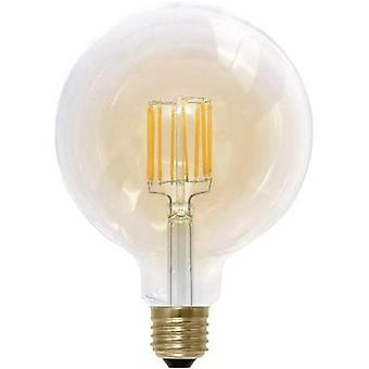 LED (monochrome) Segula 230 V E27 6 W = 30 W Gold EEC: A Globe (Ø x L) 125 mm x 180 mm dimmable, Filament 1 pc(s)