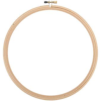 Wood Embroidery Hoop W/Round Edges 10