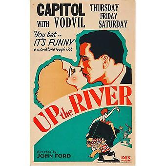 Oben den Fluss Film Poster drucken (27 x 40)