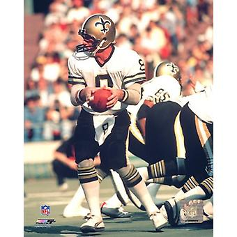 Archie Manning Action Photo Print