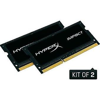 Laptop RAM kit Kingston HX316LS9IBK2/8 8 GB 2 x 4 GB DDR3L RAM 1600 MHz CL9 9-9-33