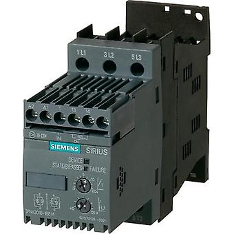 Soft starter Siemens 3RW3018 Motor power at 400 V 7.5 kW Motor p