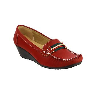 Amblers Foster Ladies Slip On Shoes Casual Synthetic Female Casual Moccasins New