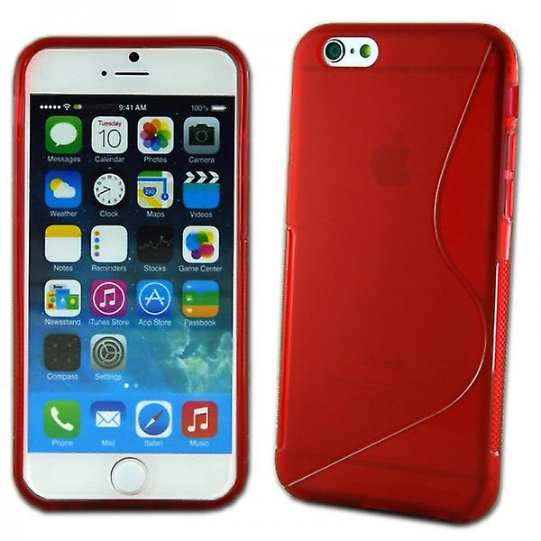 Silikoncase S-line case red for Apple iPhone 6 4.7